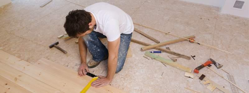 pvc vloer leggen ondervloer